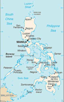 Map of Boracay