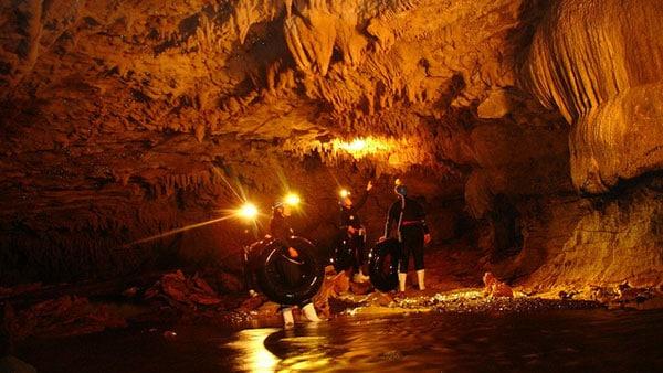 Waitomo Cave Tubing